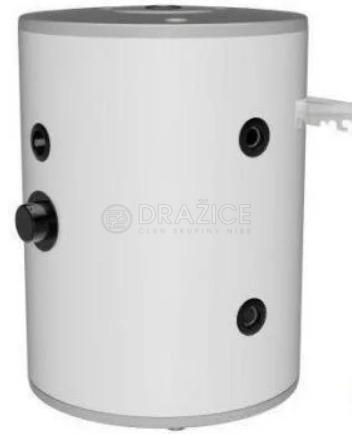 Теплоакумулятор Drazice NAD 50 v1 з теплоізоляцією