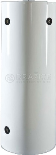 Теплоакумулятор Drazice NAD 250 v1 з теплоізоляцією