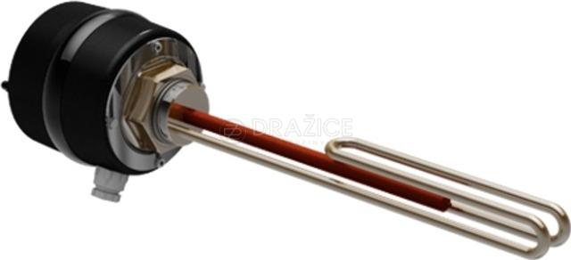 """Электрический термоэлемент Drazice TJ G 6/4"""" 2,5 кВт + удлиненная нагревательная часть + кабель"""